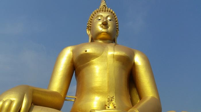 'หลวงพ่อใหญ่ วัดม่วง' อลังการองค์พระพระพุทธรูปที่ใหญ่ที่สุดในโลก